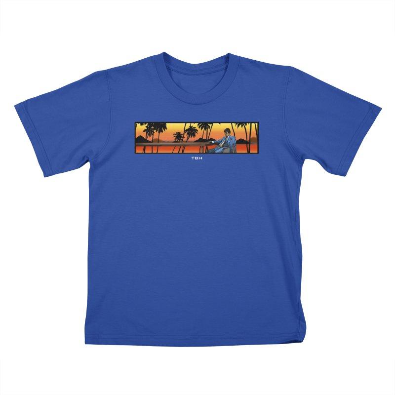 TONY 2 Kids T-shirt by TBH805
