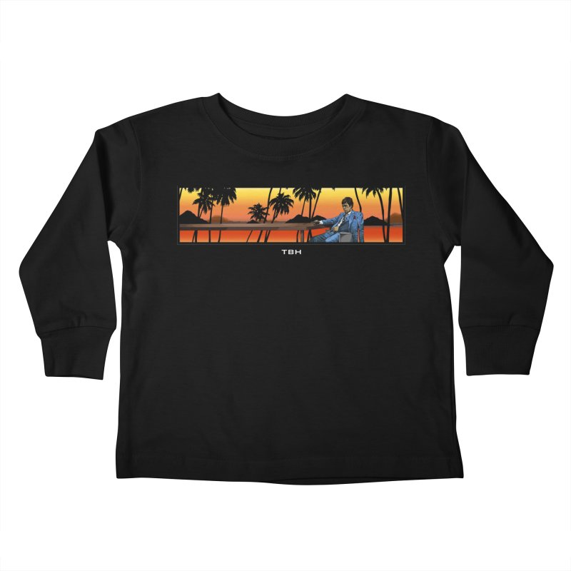 TONY 2 Kids Toddler Longsleeve T-Shirt by TBH805