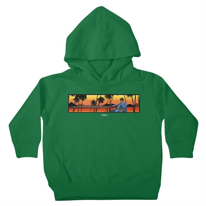 TONY 2 Kids Toddler Pullover Hoody by TBH805