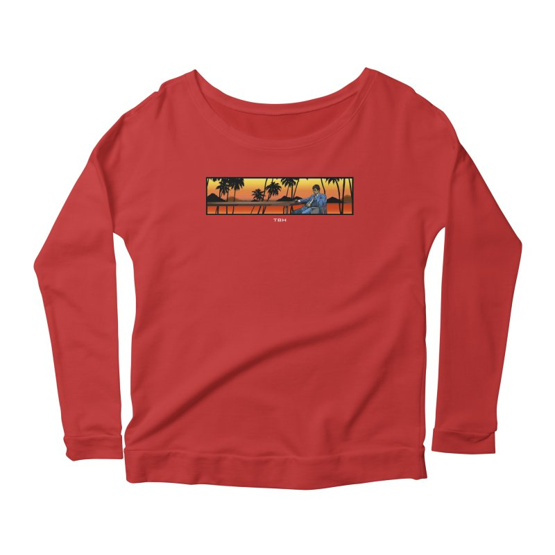 TONY 2 Women's Scoop Neck Longsleeve T-Shirt by TBH805