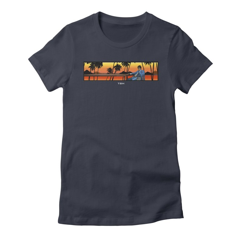 TONY 2 Women's Fitted T-Shirt by TBH805