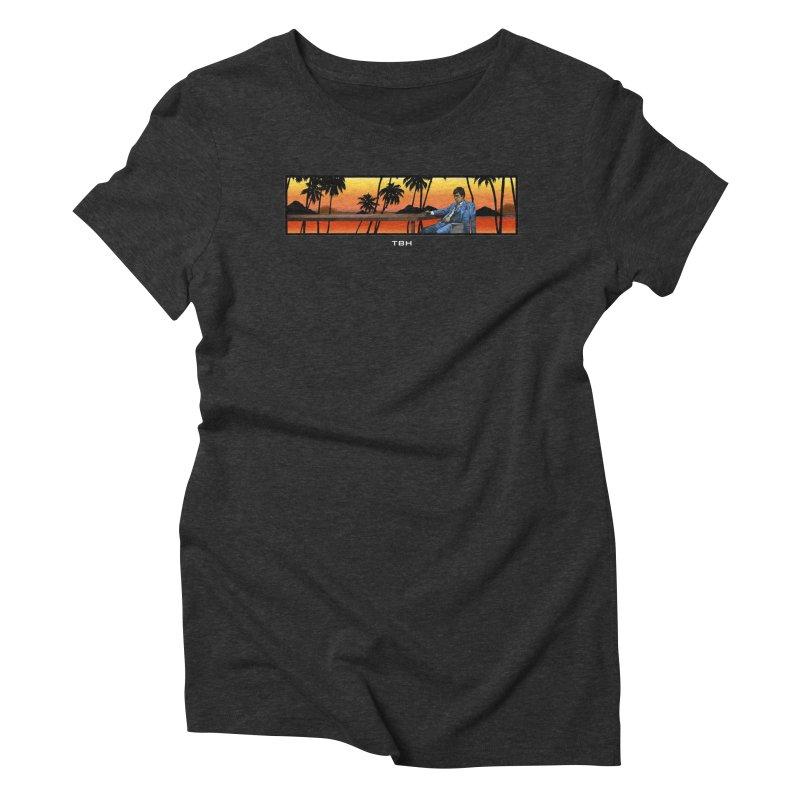 TONY 2 Women's Triblend T-Shirt by TBH805