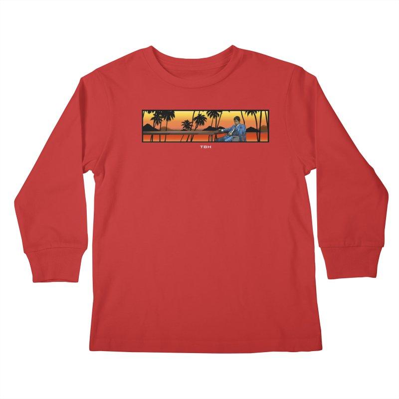 TONY 2 Kids Longsleeve T-Shirt by TBH805