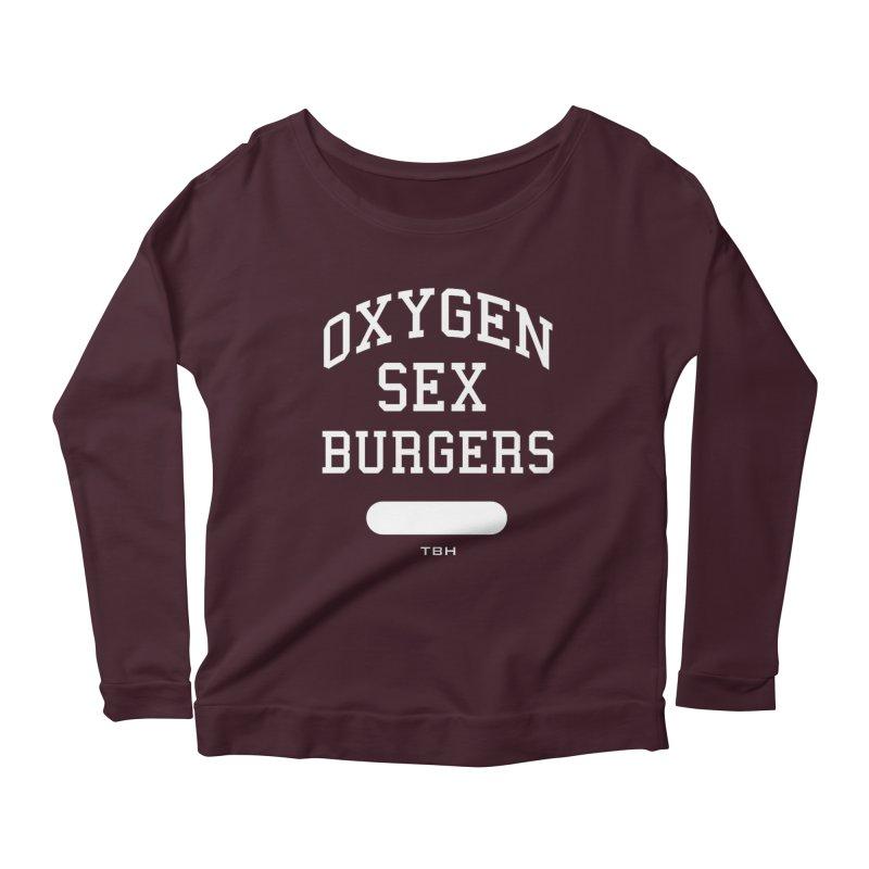 OSB Women's Scoop Neck Longsleeve T-Shirt by TBH805
