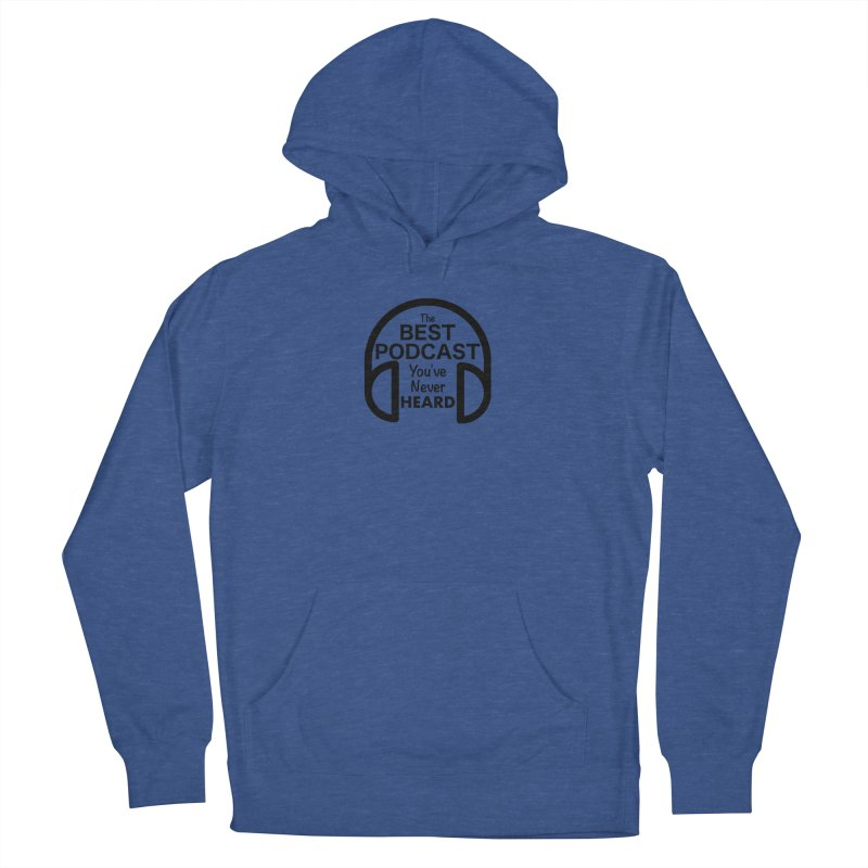 TBPYNH Logo (Black) Men's French Terry Pullover Hoody by The Best Podcast You've Never Heard