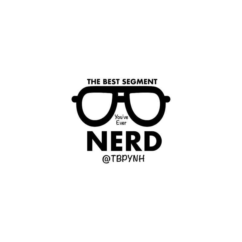 Best Segment You've Ever Nerd (Black) Women's V-Neck by The Best Podcast You've Never Heard