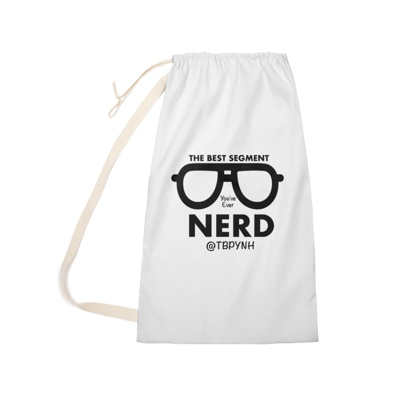 Best Segment You've Ever Nerd (Black) Accessories Bag by The Best Podcast You've Never Heard