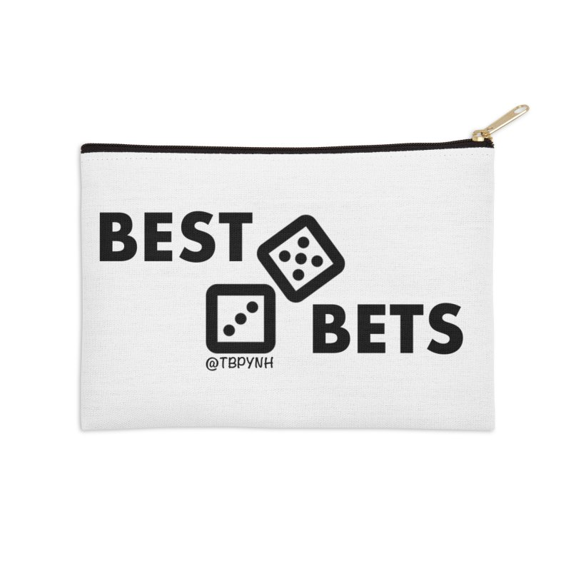Best Bets (Black) Accessories Zip Pouch by The Best Podcast You've Never Heard