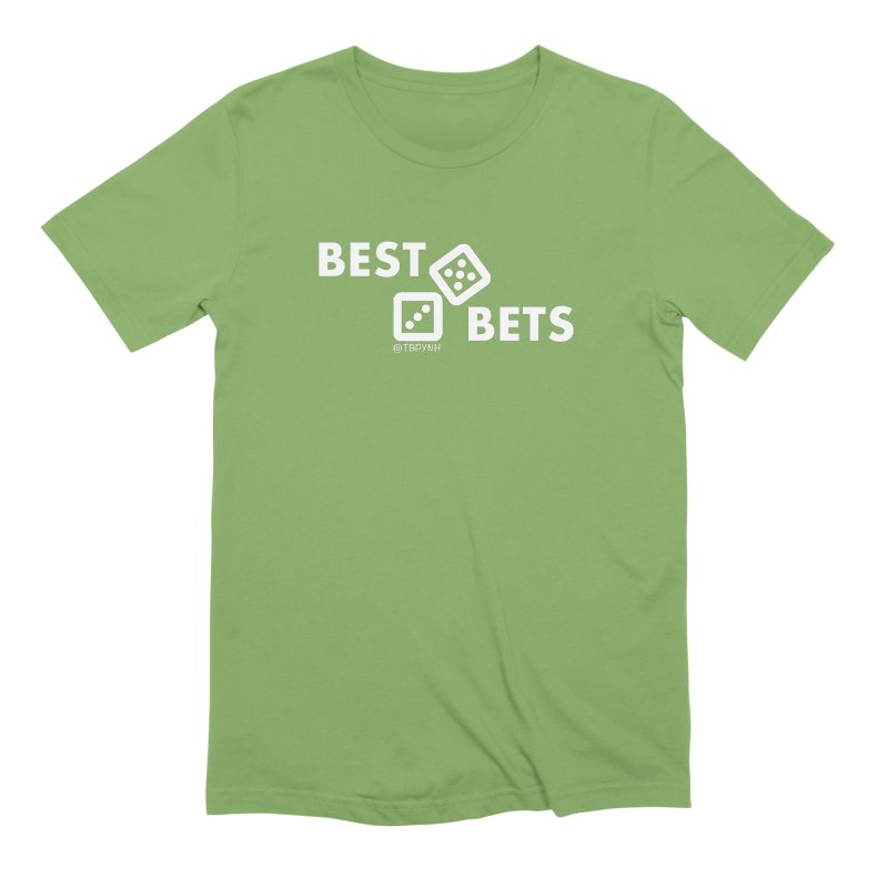 Best Bets (White) Men's Extra Soft T-Shirt by The Best Podcast You've Never Heard