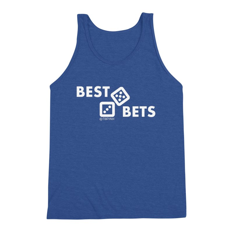 Best Bets (White) Men's Tank by The Best Podcast You've Never Heard