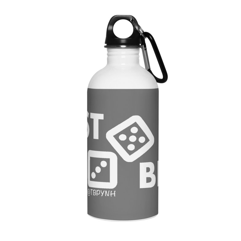 Best Bets (White) Accessories Water Bottle by The Best Podcast You've Never Heard