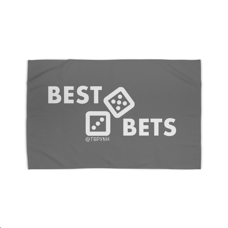 Best Bets (White) Home Rug by The Best Podcast You've Never Heard