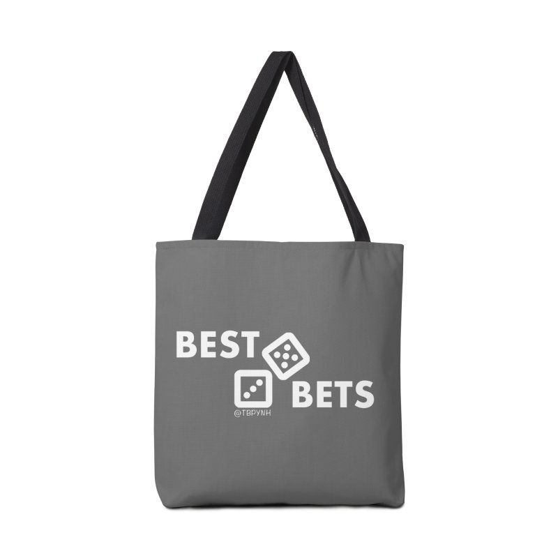 Best Bets (White) Accessories Tote Bag Bag by The Best Podcast You've Never Heard