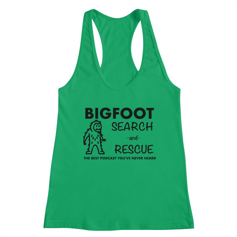 Bigfoot Search & Rescue (Black) Women's Tank by The Best Podcast You've Never Heard