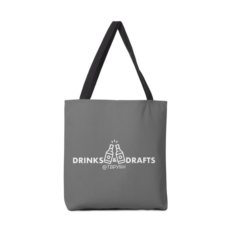 Drinks & Drafts (White) Accessories Bag by The Best Podcast You've Never Heard
