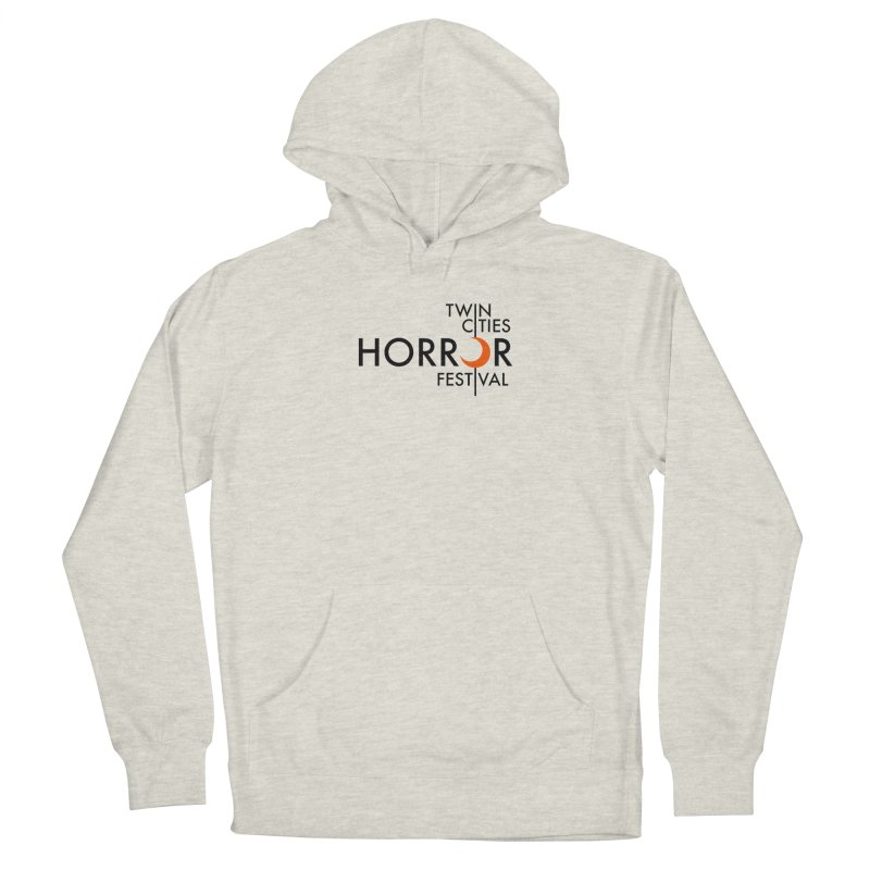 TC Horror Fest Logo Merchandise Black Lettering Women's Pullover Hoody by Twin Cities Horror Festival Merchandise