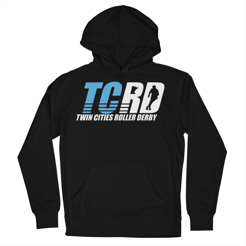 TCRD Logo Men's French Terry Pullover Hoody by tcrd's Artist Shop