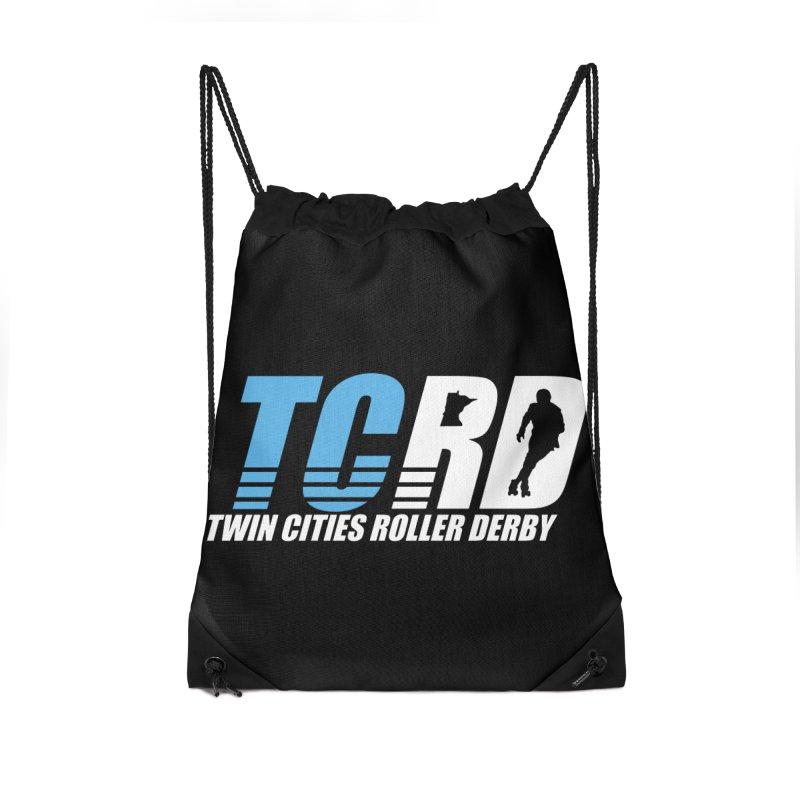 TCRD Logo Accessories Drawstring Bag Bag by tcrd's Artist Shop