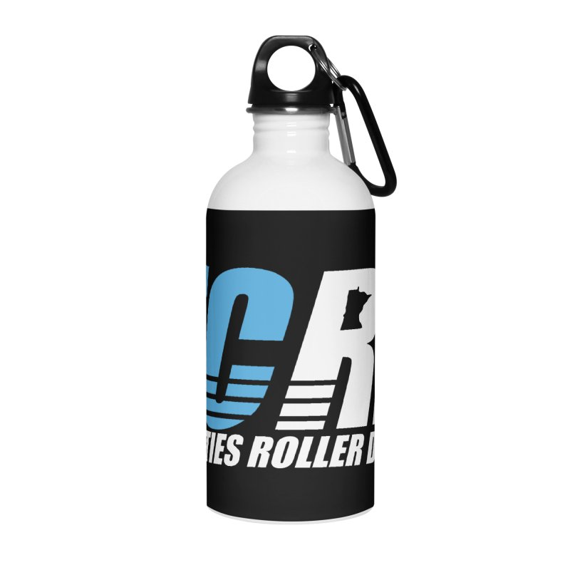 TCRD Logo Accessories Water Bottle by tcrd's Artist Shop