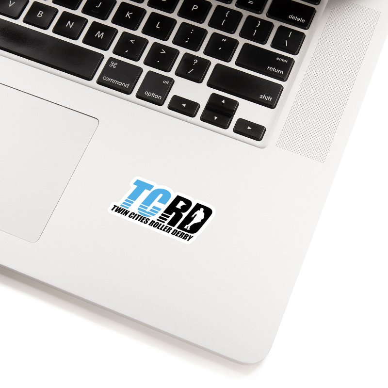 TCRD Logo Accessories Sticker by tcrd's Artist Shop