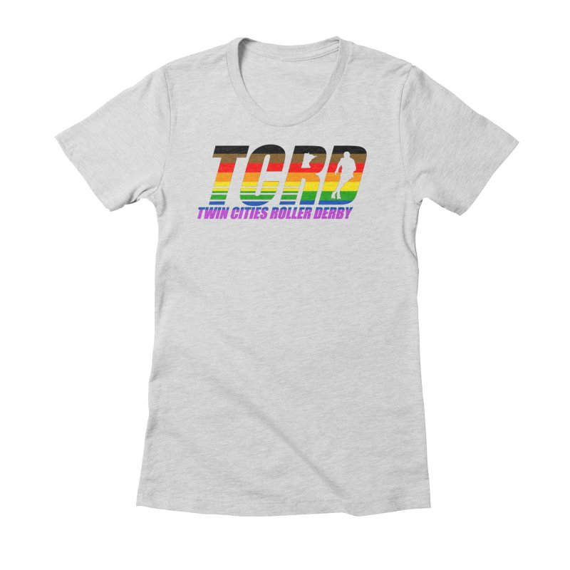 TCRD Pride Women's Fitted T-Shirt by tcrd's Artist Shop