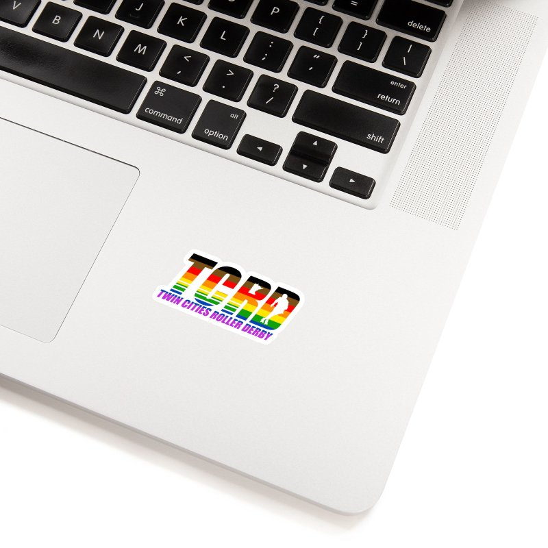 TCRD Pride Accessories Sticker by tcrd's Artist Shop