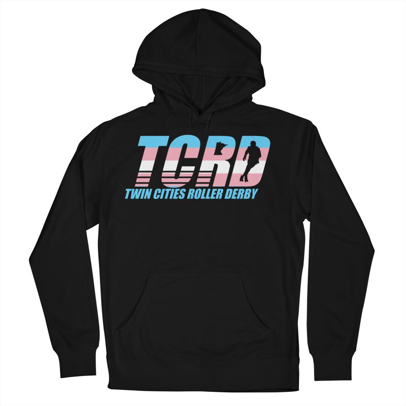 Trans Pride Men's French Terry Pullover Hoody by tcrd's Artist Shop
