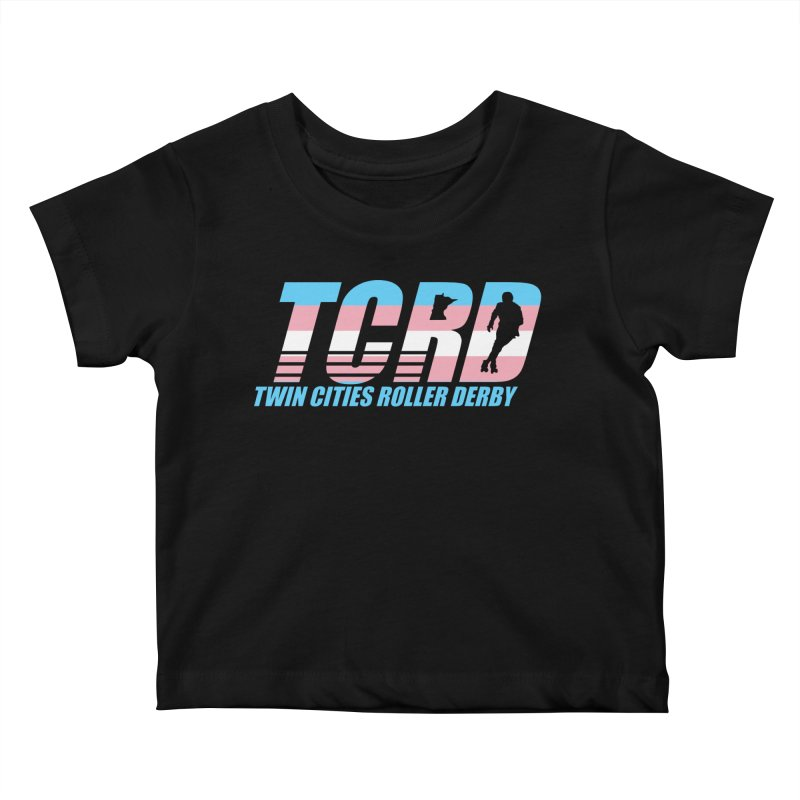 Trans Pride Kids Baby T-Shirt by tcrd's Artist Shop