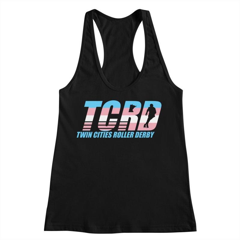 Trans Pride Women's Racerback Tank by tcrd's Artist Shop