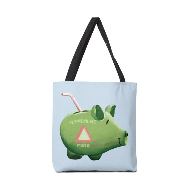 Roti, Kapda & Makaan Accessories Bag by Vidhi's Artist Shop
