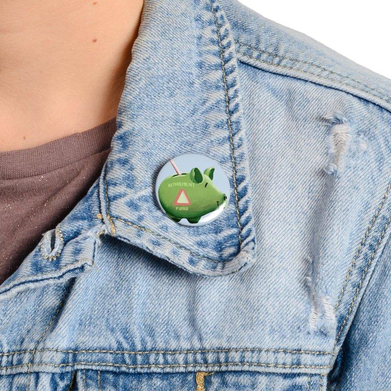 Roti, Kapda & Makaan Accessories Button by Vidhi's Artist Shop