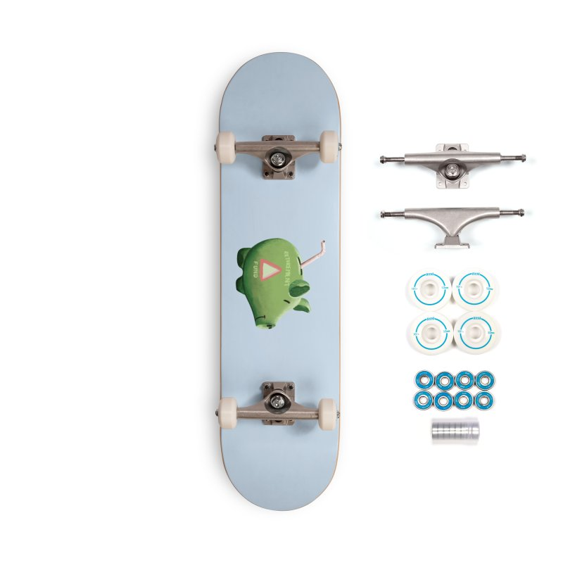 Roti, Kapda & Makaan Accessories Skateboard by Vidhi's Artist Shop