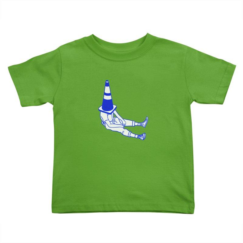 The Human Ostrich Kids Toddler T-Shirt by Vidhi's Artist Shop