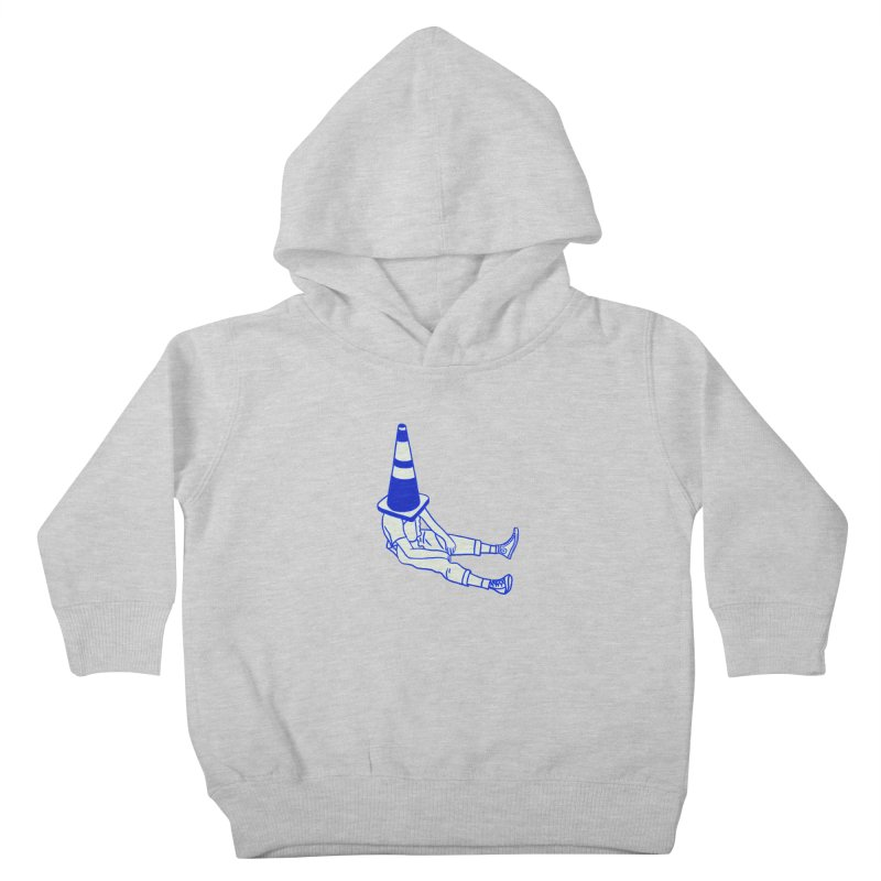 The Human Ostrich Kids Toddler Pullover Hoody by Vidhi's Artist Shop