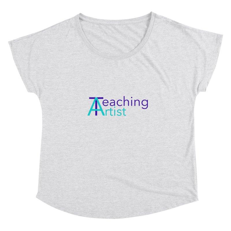 Teaching Artist Women's Scoop Neck by Teaching Artist Shop