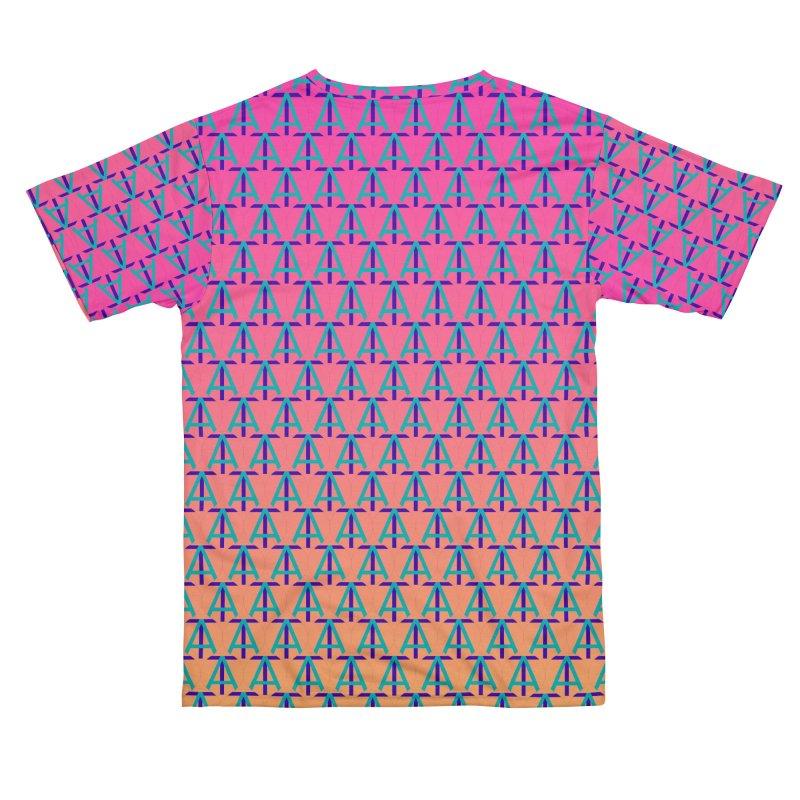 TA Gradient Men's Cut & Sew by Teaching Artist Shop