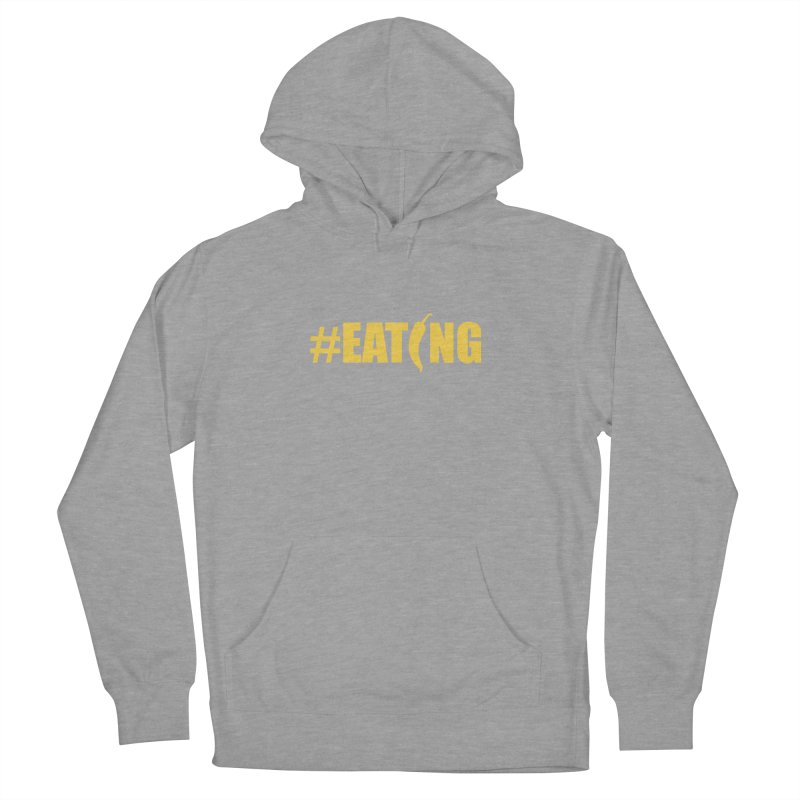 #EATING Hot Pepper Men's Pullover Hoody by Plant a Seed