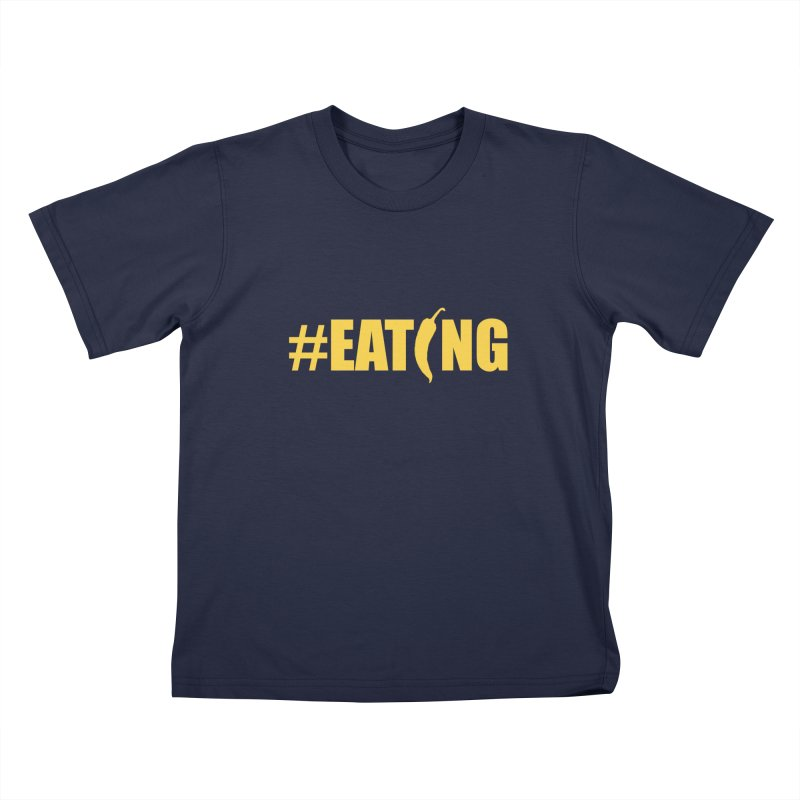 #EATING Hot Pepper Kids T-shirt by Plant a Seed