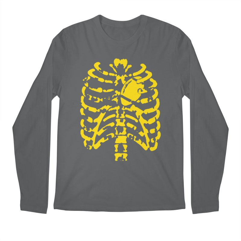 Football heart Men's Longsleeve T-Shirt by Plant a Seed