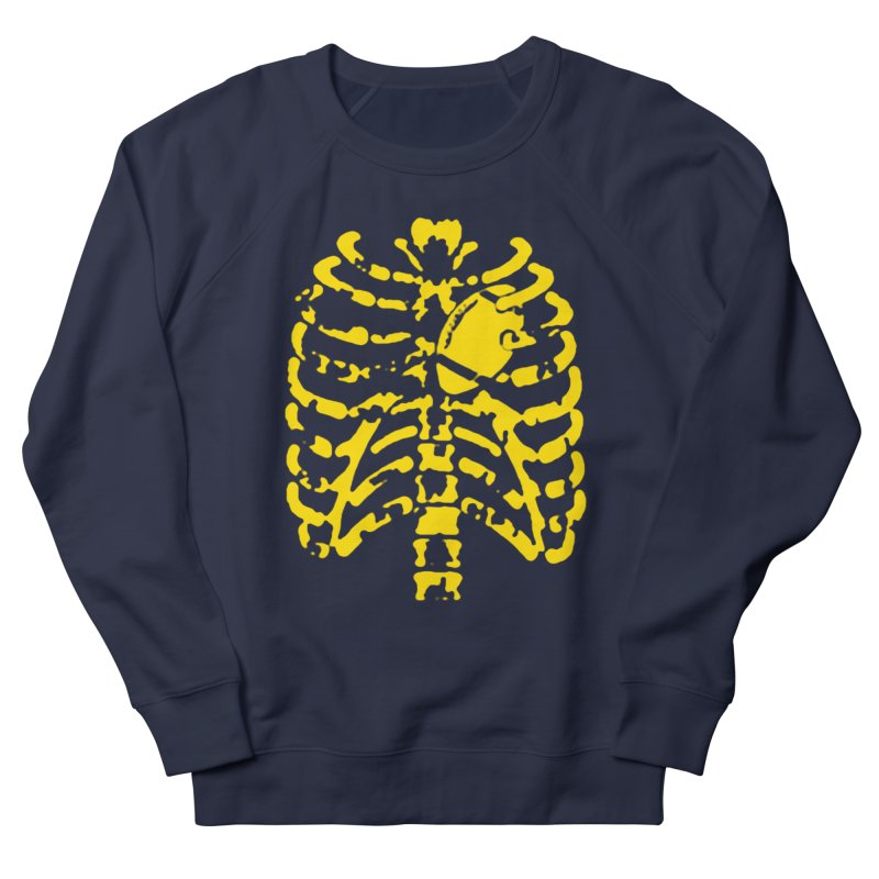Football heart in Men's Sweatshirt Navy by Plant a Seed