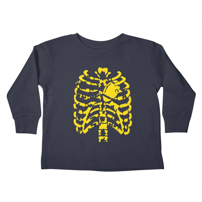 Football heart Kids Toddler Longsleeve T-Shirt by Plant a Seed