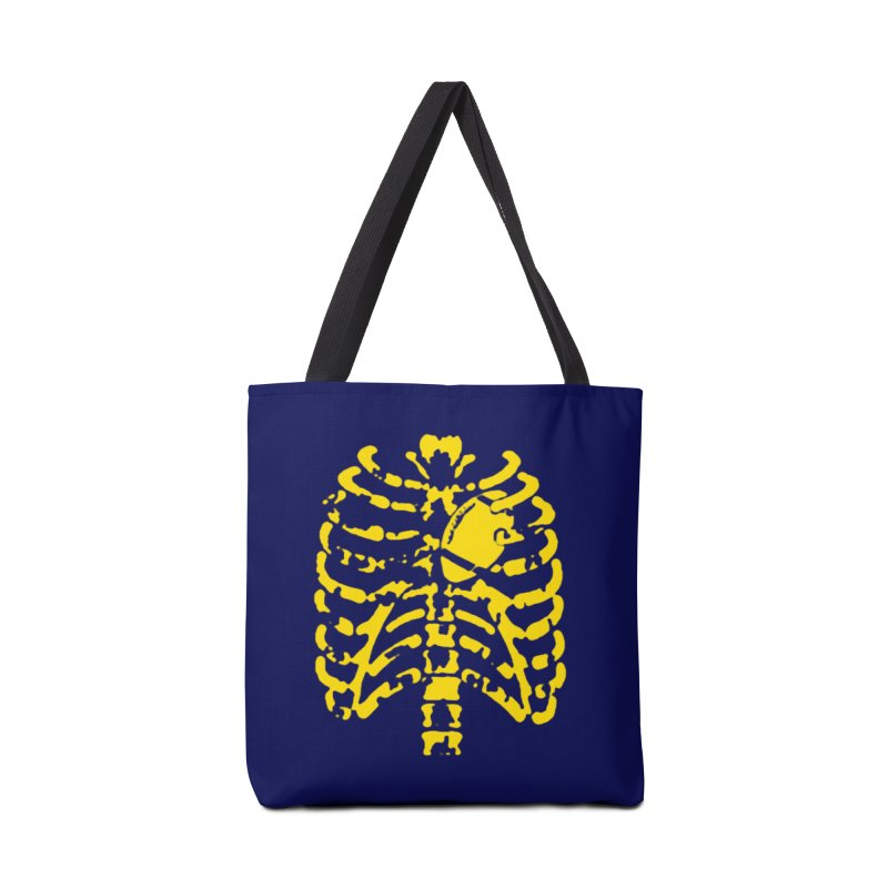 Football heart Accessories Bag by Plant a Seed