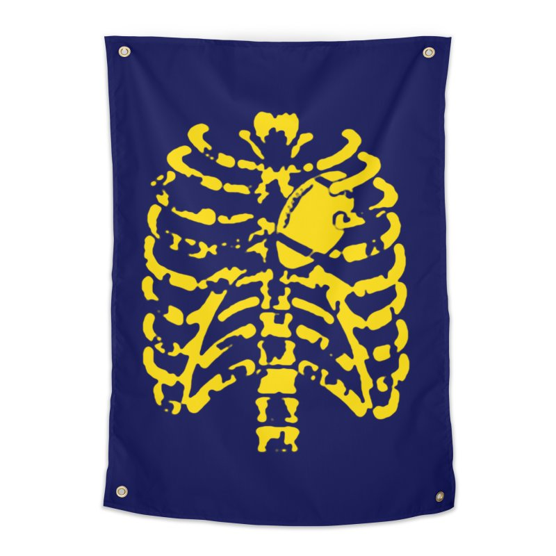 Football heart Home Tapestry by Plant a Seed
