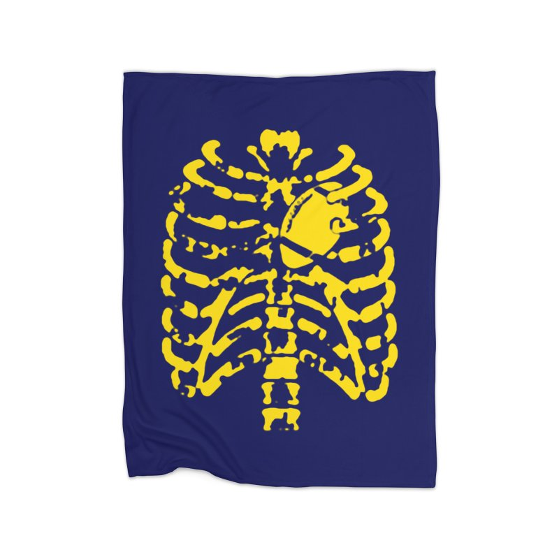 Football heart Home Blanket by Plant a Seed