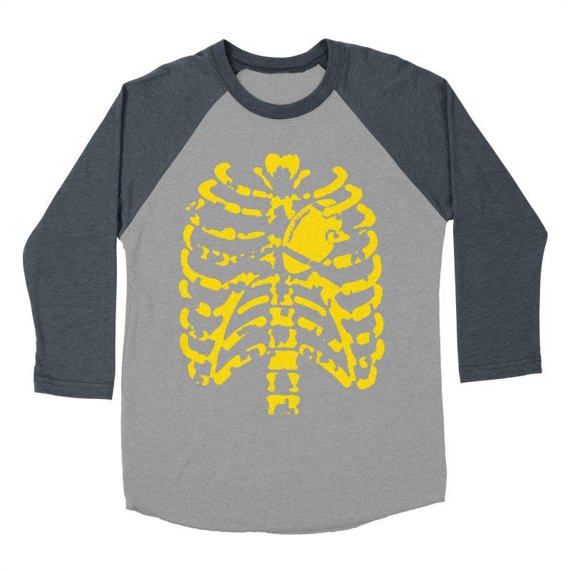 Football heart Men's Baseball Triblend Longsleeve T-Shirt by Plant a Seed