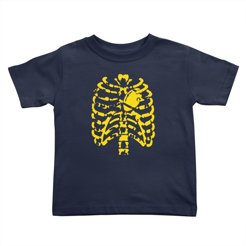 Football heart Kids Toddler T-Shirt by Plant a Seed