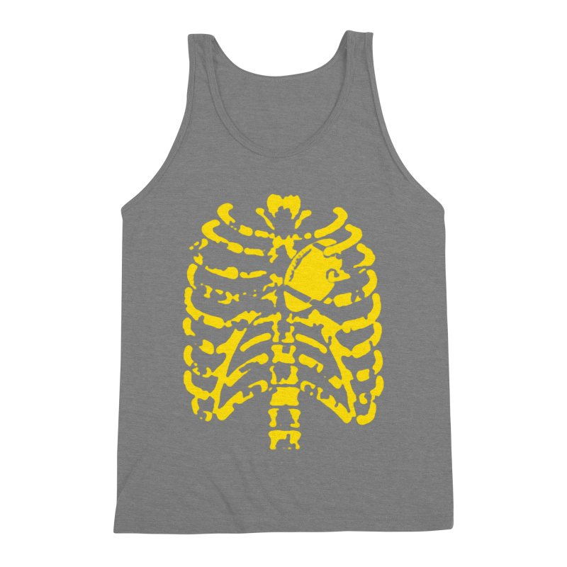 Football heart Men's Triblend Tank by Plant a Seed