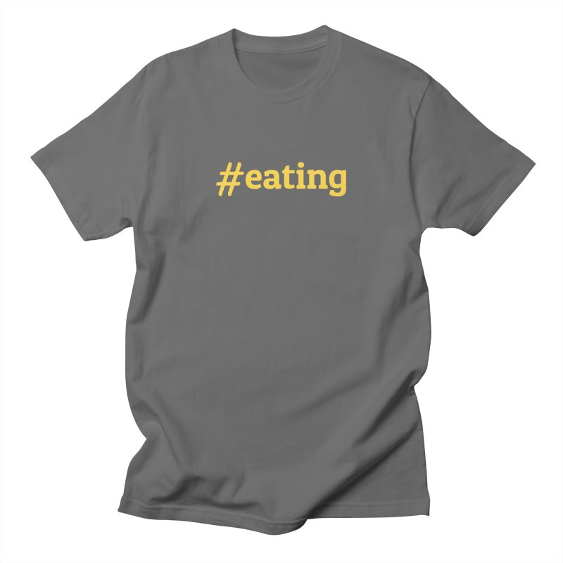 #EATING (modern) Men's T-Shirt by Plant a Seed
