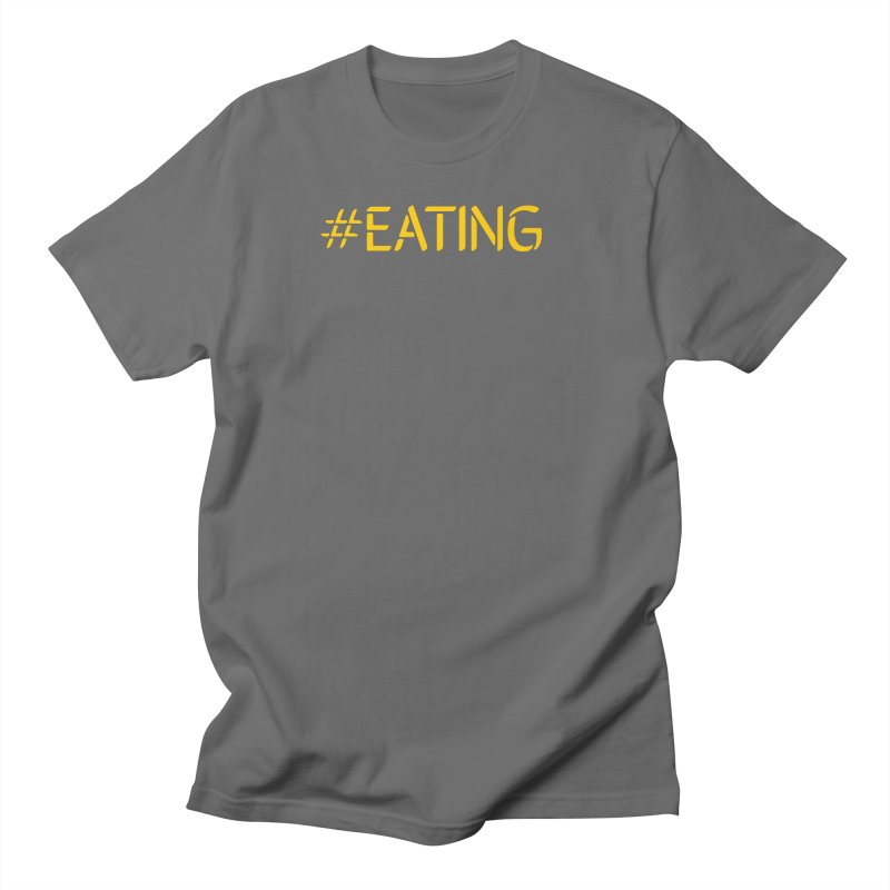 #EATING standard Men's T-Shirt by Plant a Seed