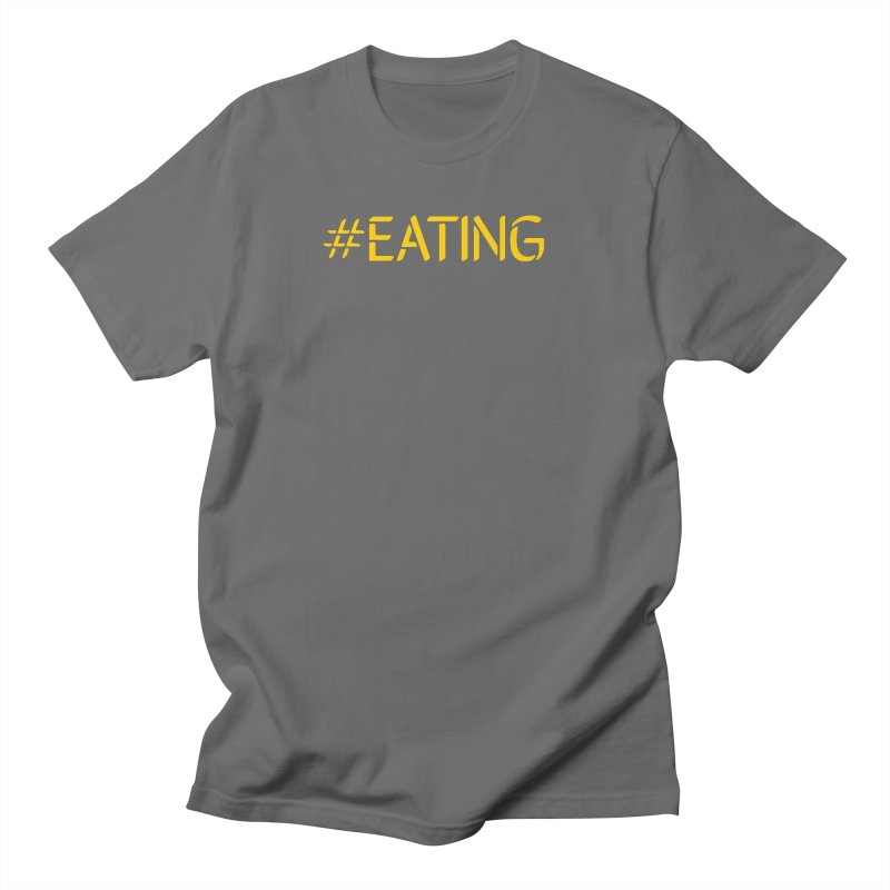 #EATING standard Men's Regular T-Shirt by Plant a Seed